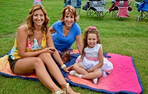 family at concert in Bexley