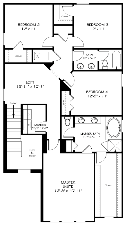 Bexley-Lennar-Maryland-Floorplan-Second Floor.PNG