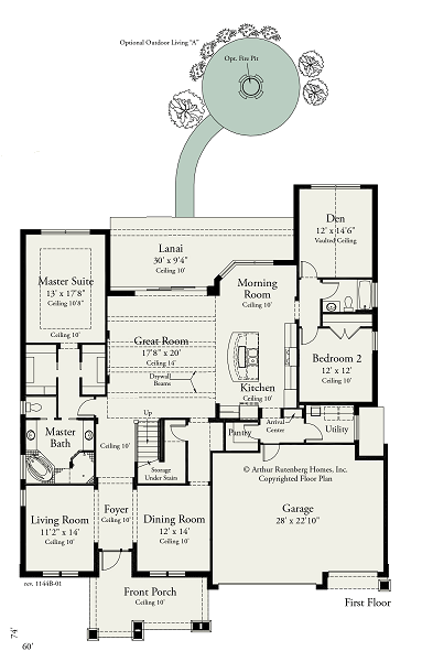 Bexley-Arthur-Rutenberg-Juniper-Floorplan-First-Floor
