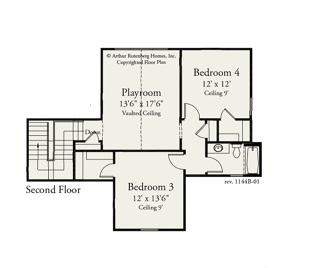 Bexley-Arthur-Rutenberg-Juniper-Floorplan-Second-Floor