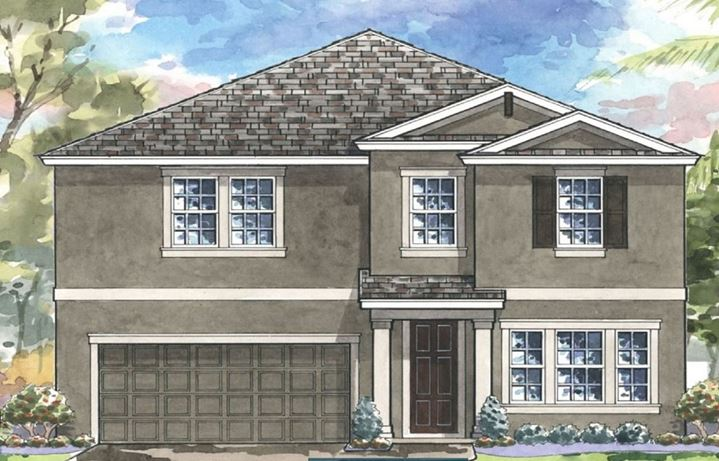 New Home Finder | Bexley in Land O' Lakes, Tampa Bay FL Ici Homes Windemere Floor Plan on