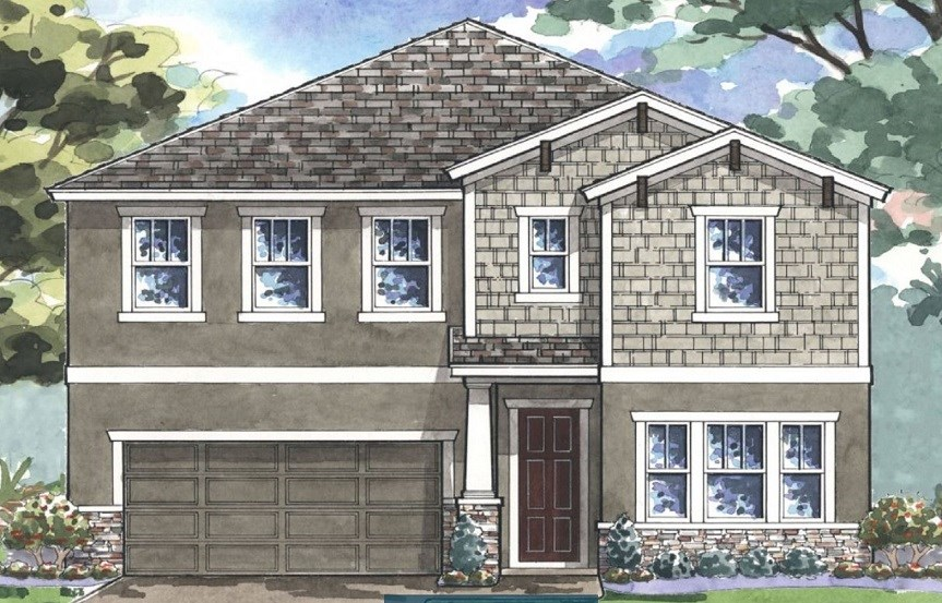 Bexley-Homes by WestBay-Pelican-Craftsman-Elevation