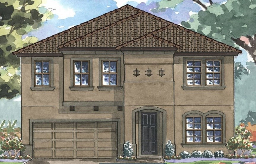 Bexley-Homes by WestBay-Pelican-Mediterranian B-Elevation