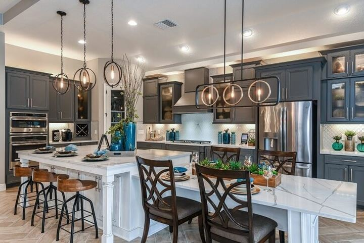 Kitchen of Bayshore II by Homes by WestBay in Bexley