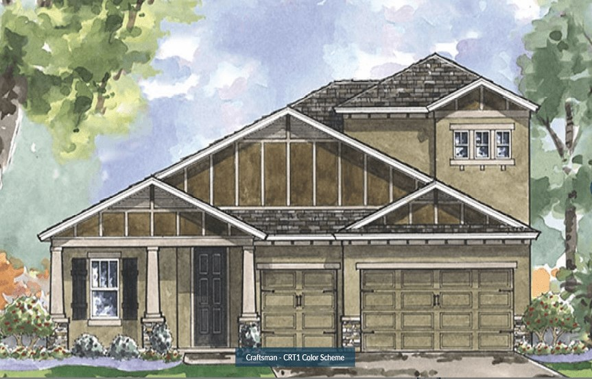 Bexley- Homes by WestBay- Bayshore II- Craftsman Elevation