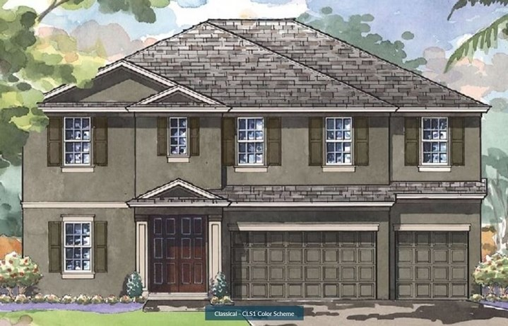 Bexley-Homes by WestBay-Virginia Park- Classical Elevation