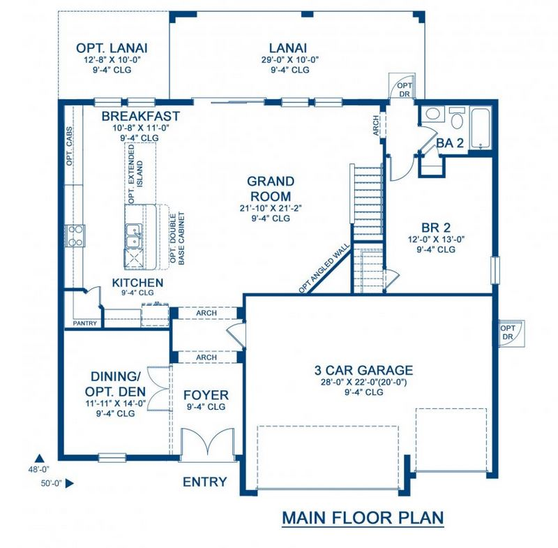 Bexley-Homes by WestBay-Virginia Park- First floor