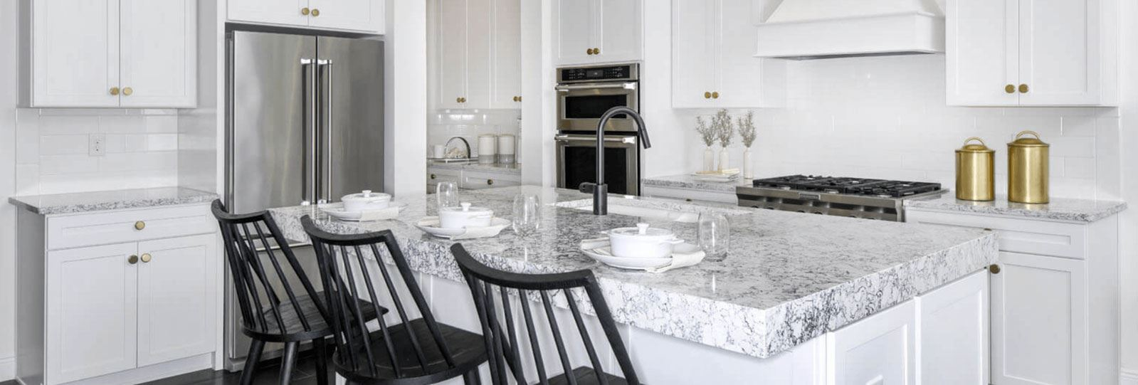 Kitchen of the Savannah model home in Bexley.