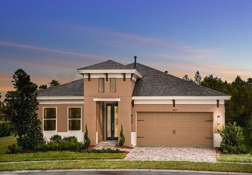 Exterior image of Homes by WestBay Sandpiper in Bexley Land O Lakes, FL